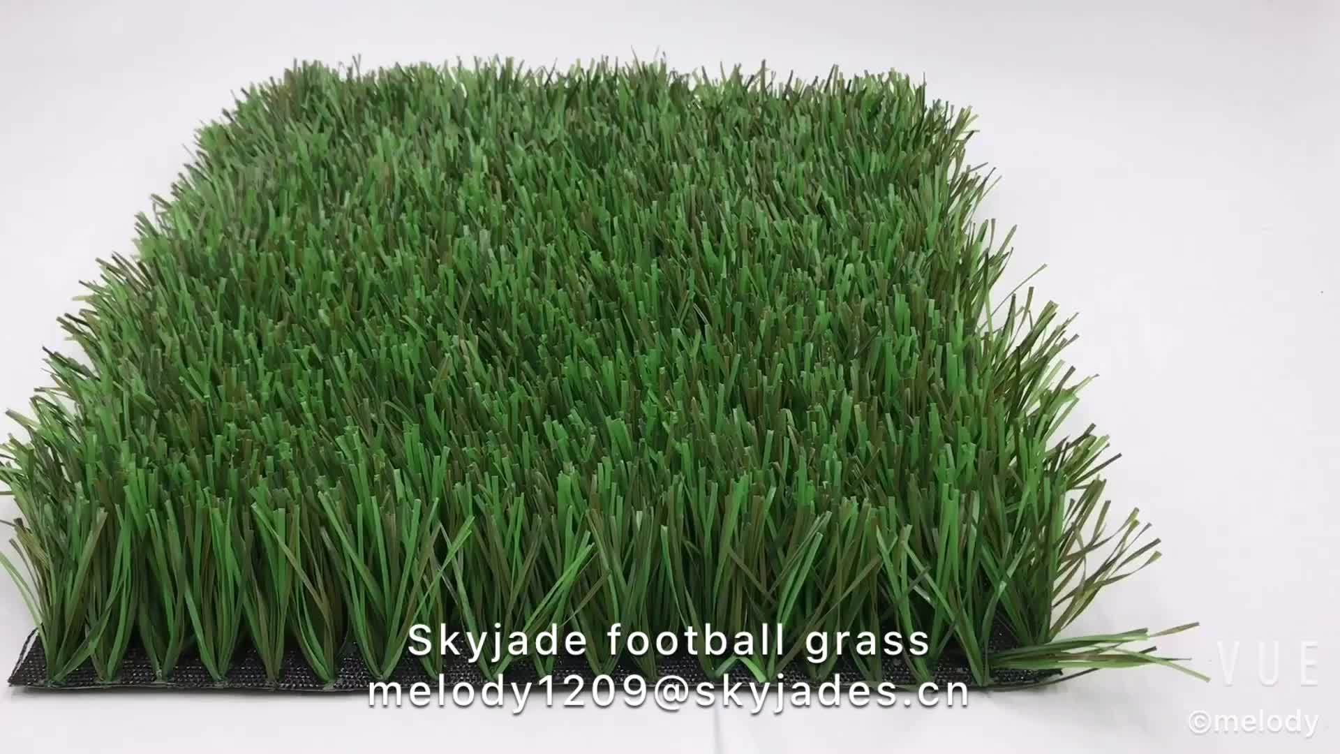 50mm Kunstgras Triple Kleuren Futsal Gras Nep Gazon Voor Voetbal Veld