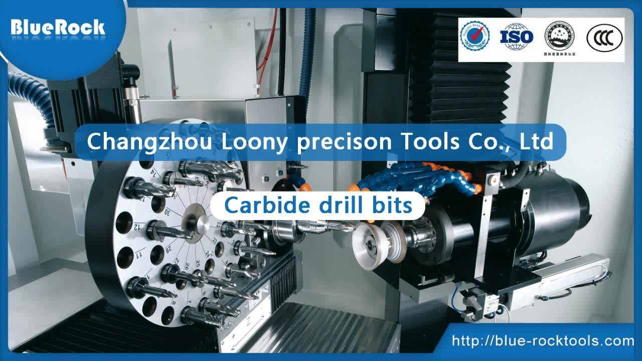 Drill Manufacture/Solid Carbide Step Drill Bit For Stainless Steel