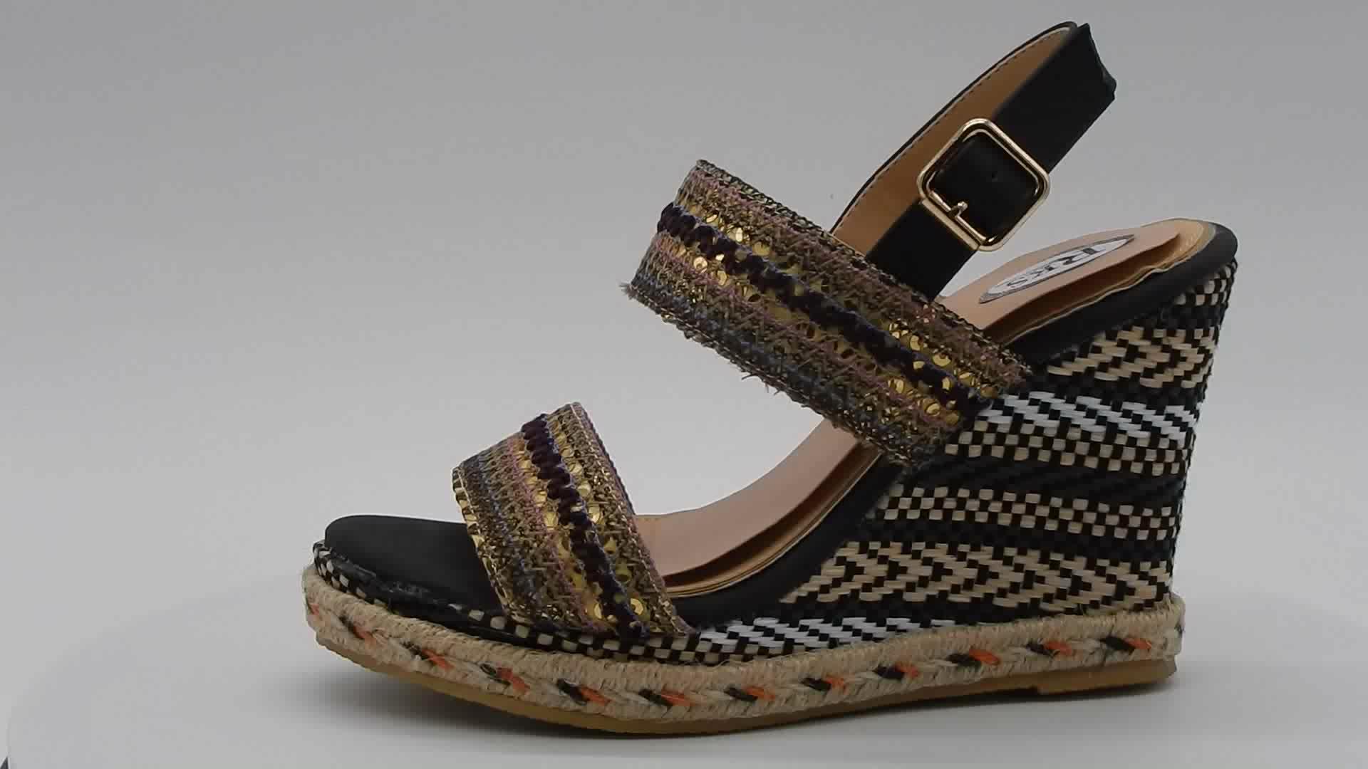Fancy Girls Wedge Heel Platform Shoes Sandals 2017 Buy