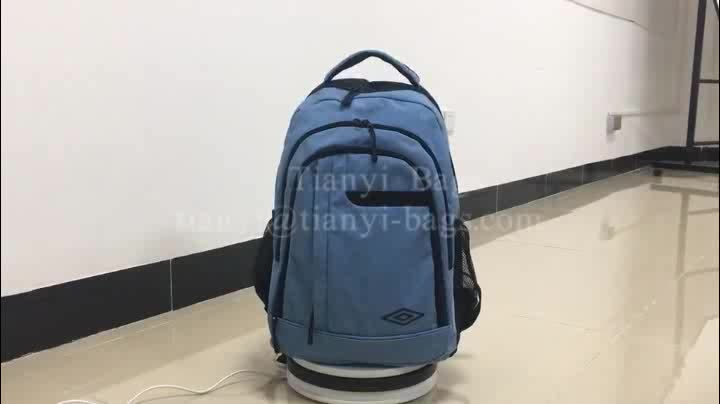 Best Stylish College Students Waterproof Slim Canvas Laptop Backpack Wholesale