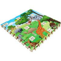 天利拼图泡沫地垫60*60卡通字母 拼接爬行垫加厚婴儿童早教爬爬垫