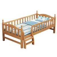拼接榉木加宽大人床边侧边婴儿床质量怎么样