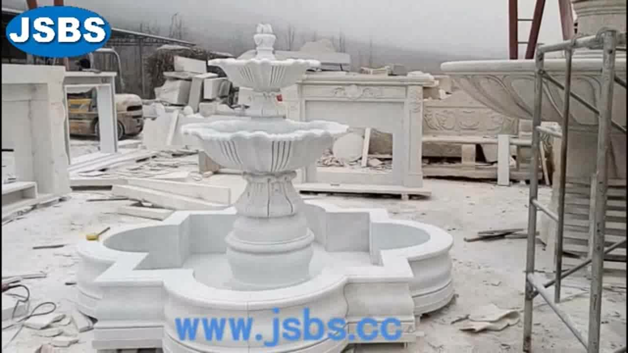 Wholesale All Types Outdoor or Indoor Stone Garden Marble Water Fountain