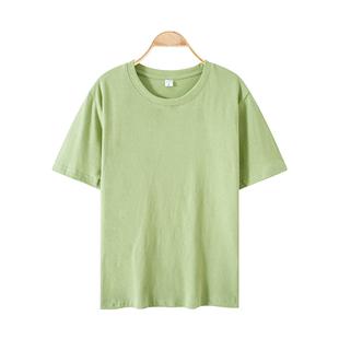 網紅t恤女ins超火純棉短袖2020夏新款白色小雛菊打底香芋紫色上衣