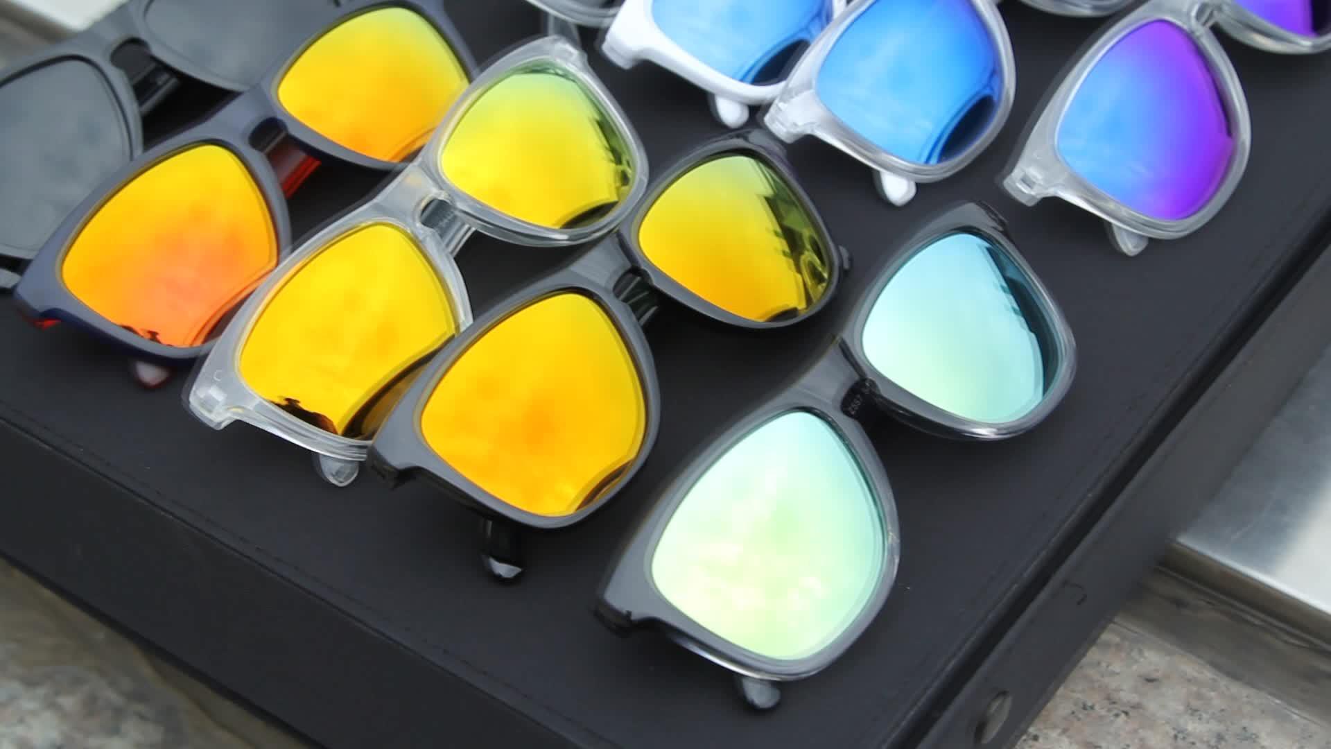 Story Plastic Hinge Printing TAC 2017 polar eagle polarized Sunglasses Brand logo