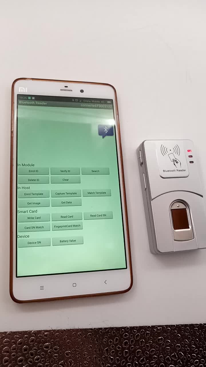 HFSecurity HF7000 NFC FAP10 FBI Certificated Fingerprint Scanner With Free SDK For School Time Attendance