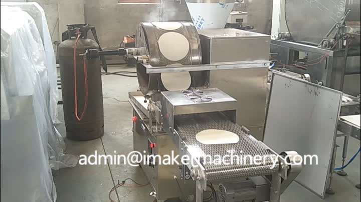 industrial automatic spring roll wrapper sheet mile crepe making machine