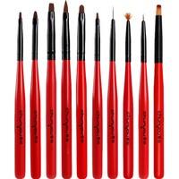 春柚美甲笔画花笔拉线笔光疗彩绘笔渐变手绘笔笔刷套装工具全套