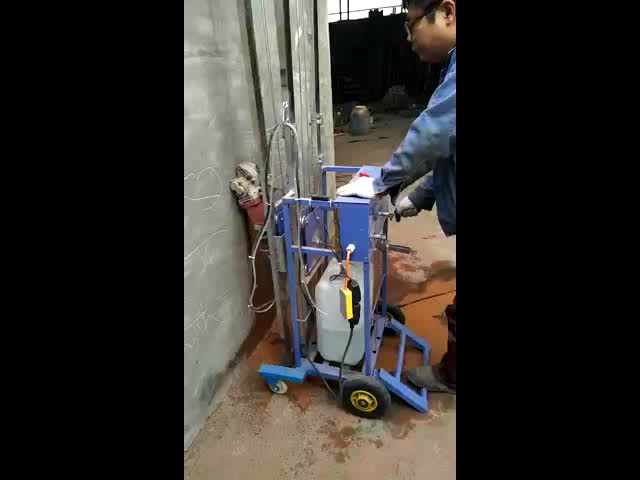 2018 Hot Sale New Designed 360 Degree No Dudst Electric Wall Slotting Machine