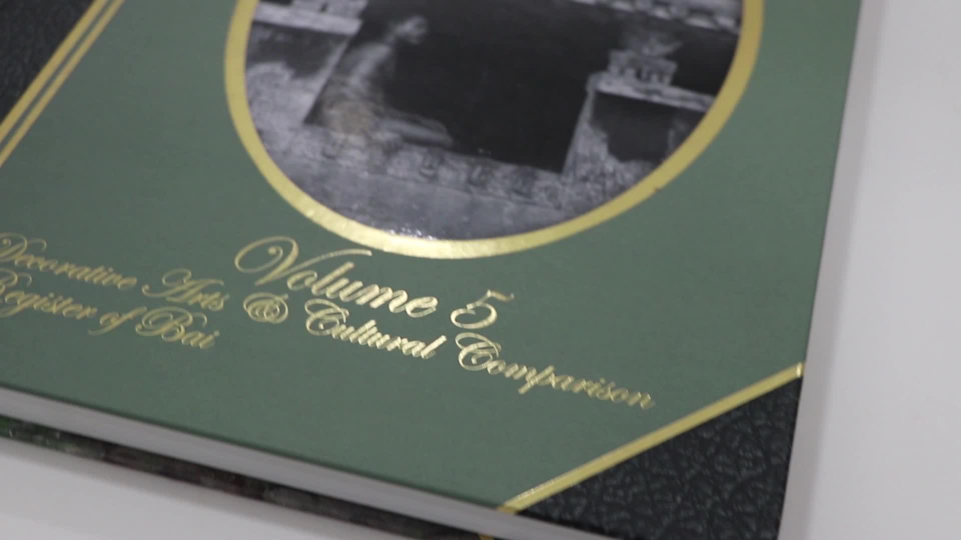 Özel Ciltli Kitap ofset baskı şirketi bölüm dikilmiş yuvarlak omurga ve ipek kurdele ile kitap kitaplar baskı hizmetleri Çin