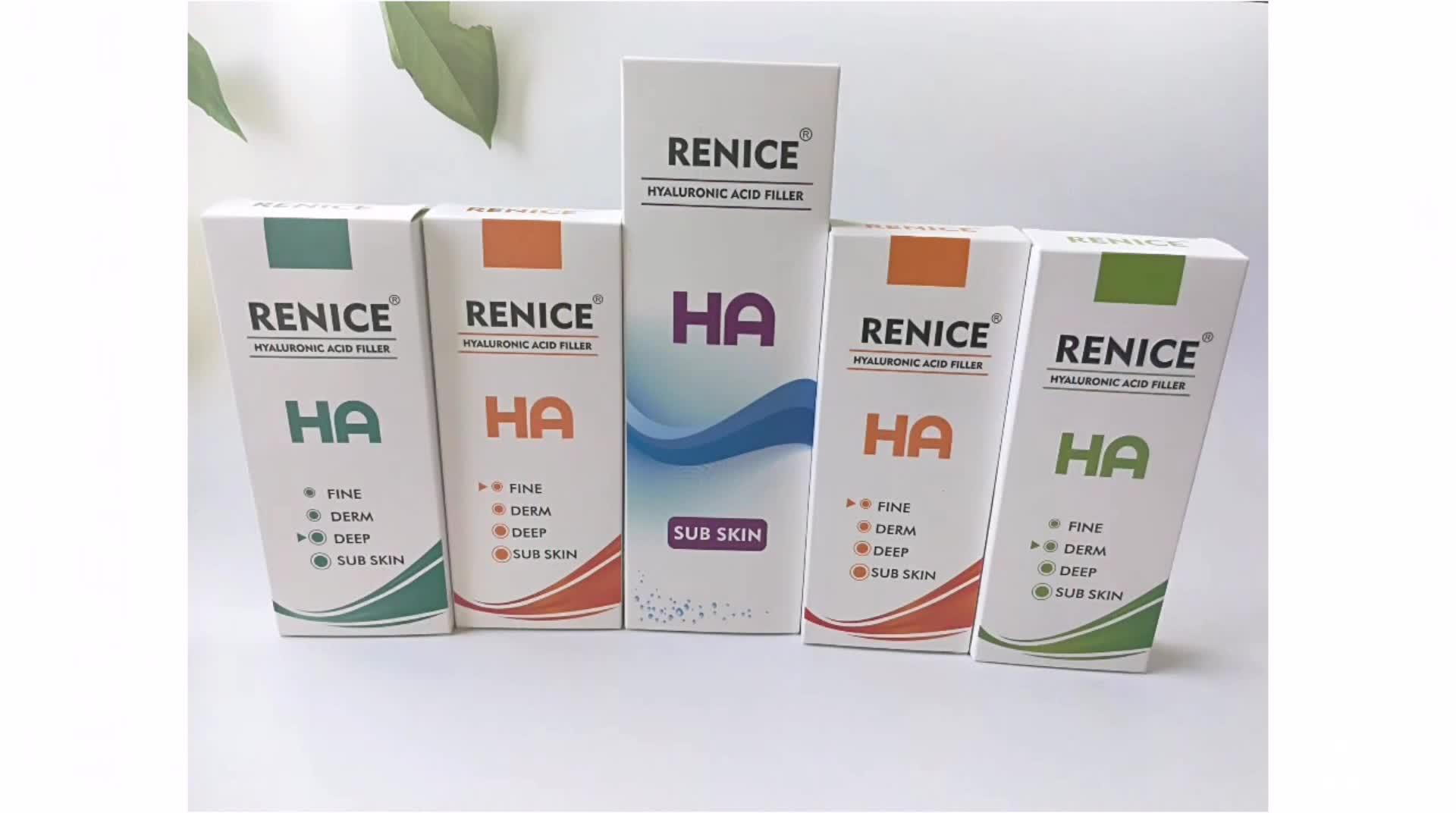 Cross-linked hyaluronic acid gel injection dermal filler