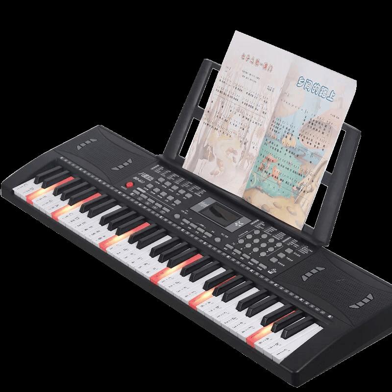 儿童电子琴小钢琴玩具女孩带话筒益智多功能宝宝初学者可弹奏家用