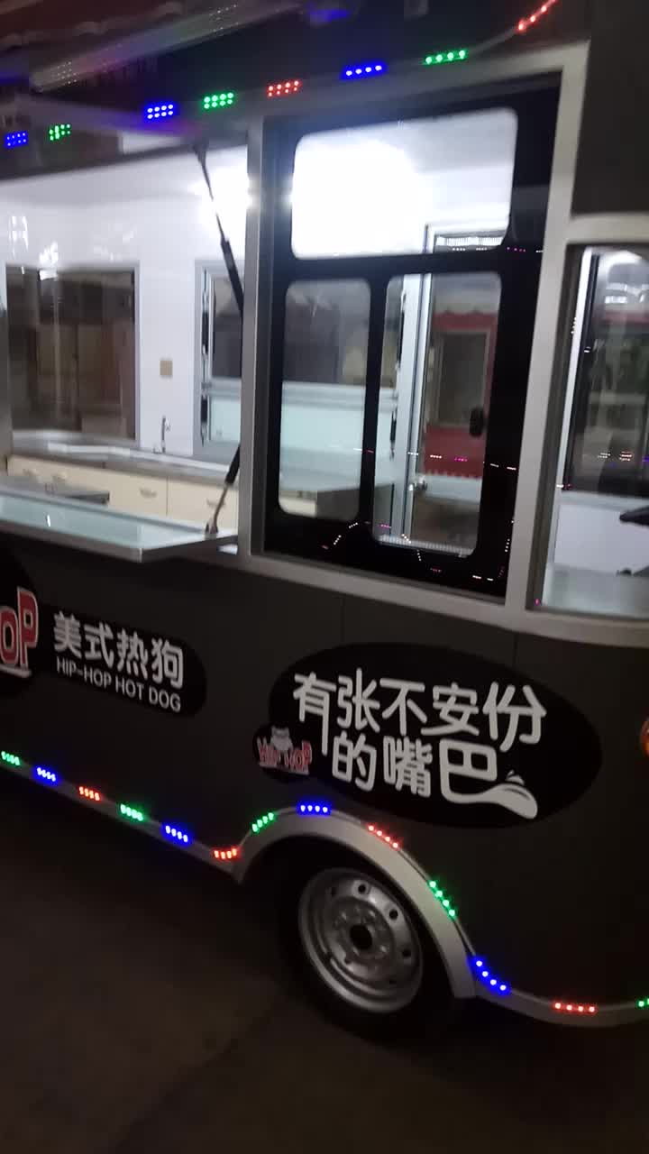 Mulitypurpose Mobile Durable FOOD CART for Sale