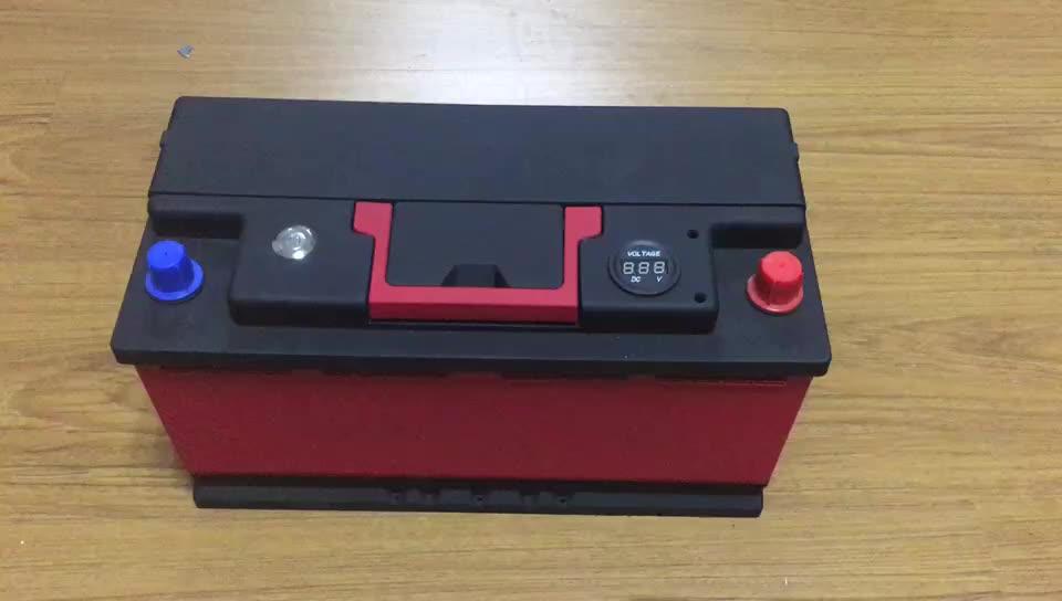 CE ROHS 12 V/24 V 110AH CCA1750 Dohon NIEUWE COLLECTIE BMS gratis onderhoud startupLithium iron Motorfiets fosfaat batterij voor auto
