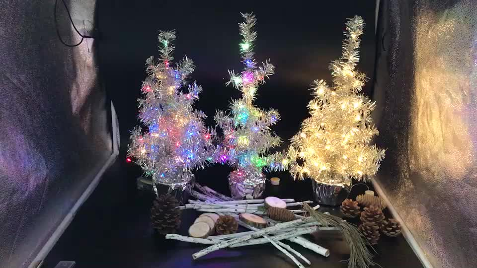Outdoor Decoration Solar Panel Led Christmas Tree String