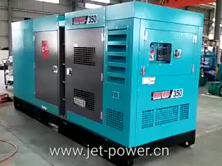 440V 200kva diesel silent generator with engine 6CTAA8.3-G2 power 160kw soundproof generator set