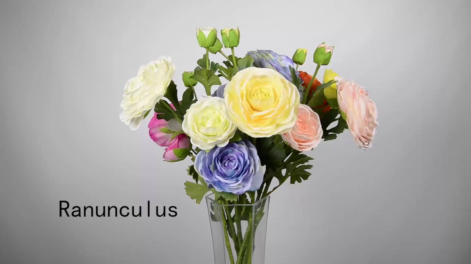 Faux Decorative Flower Home & Garden Arrangement Bulk Silk Bouquet Flower
