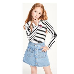 巴拉巴拉童装女童t恤儿童打底衫