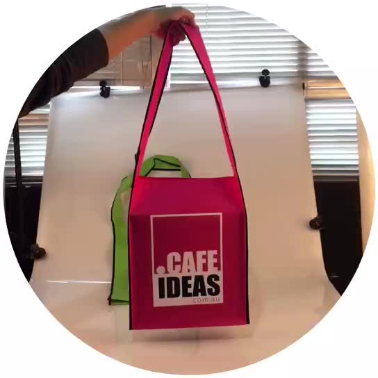 recycle custom printed promotional non woven bag