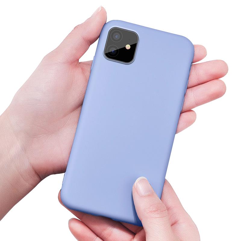 果果帮苹果11手机壳液态硅胶iphone11pro保护套潮牌男女款iphone11promax个性创意苹果xi手机套全包防摔新款