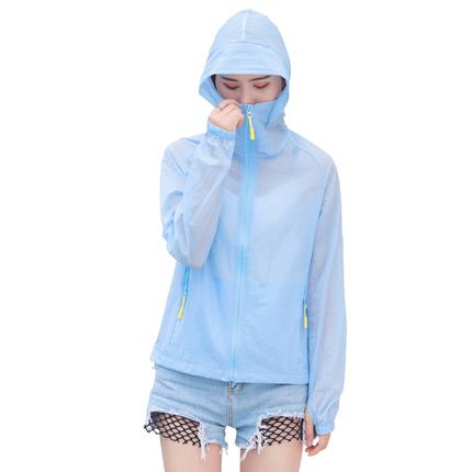夏季中长款2019新款短款时尚防晒衣