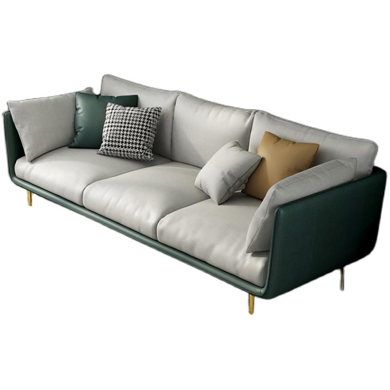 轻奢三人沙发小户型北欧客厅科技布怎么样