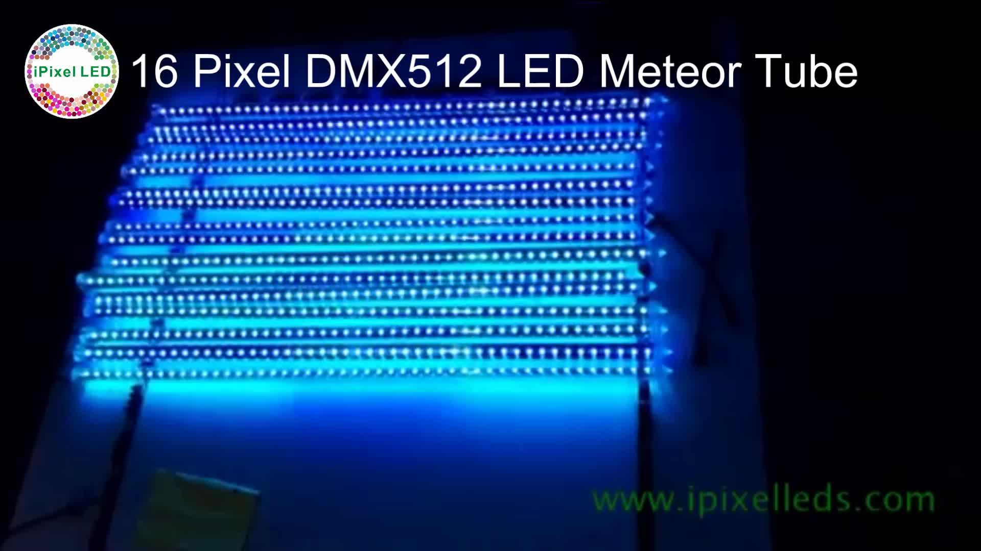 Smd 5050 12 V rgb dmx 16 pixel led leuchtstoffröhre