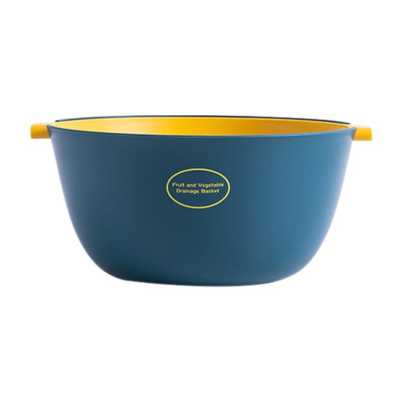 北欧双层洗菜盆沥水篮厨房洗水果盘值得购买吗