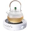 简悠电陶炉煮茶小型煮茶器小电磁炉家用小茶炉烧水泡茶微型煮茶炉