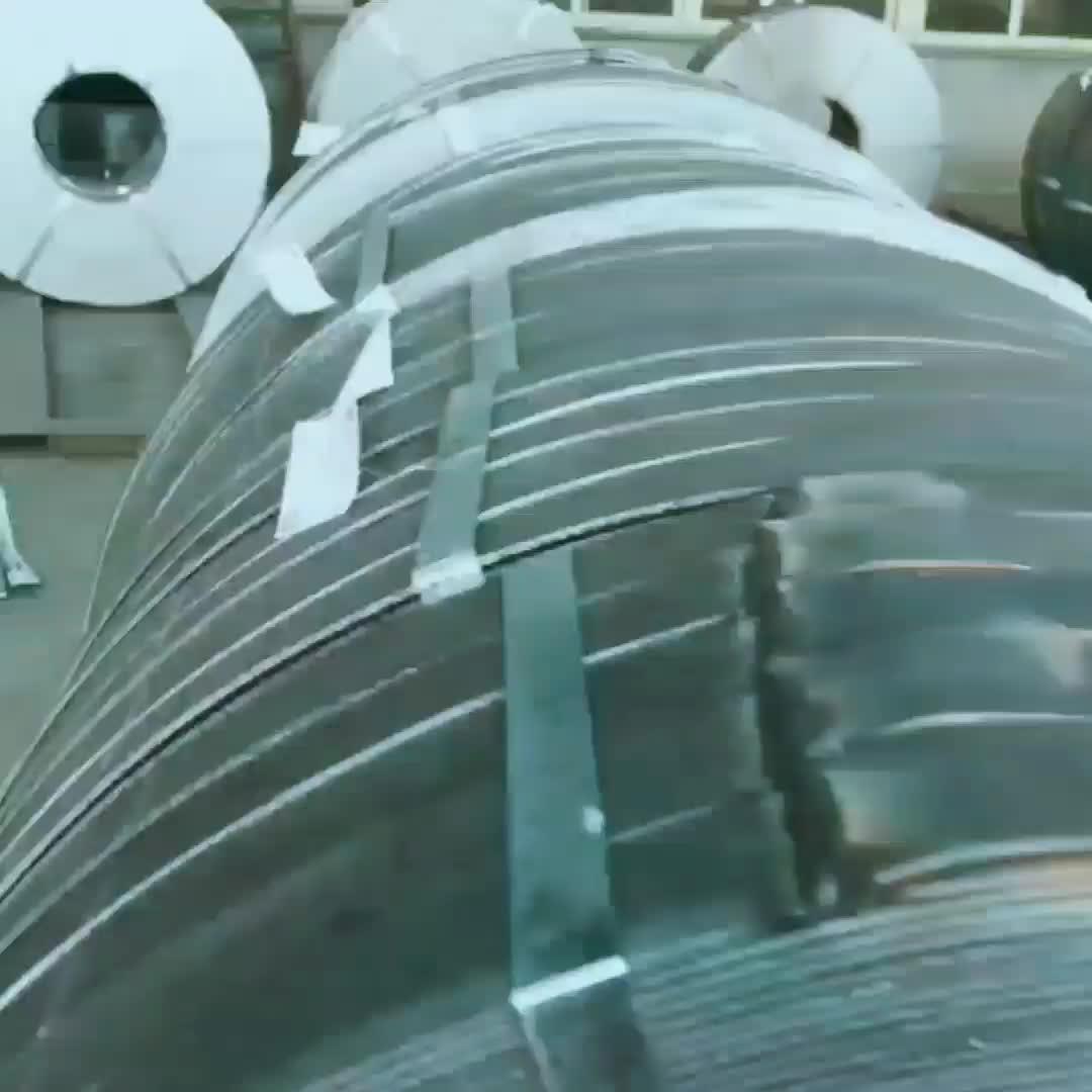 Proveedor de China, precio de molino de laminado en caliente suave embalaje Correa correa/tira de acero/cortar bobina de Q195