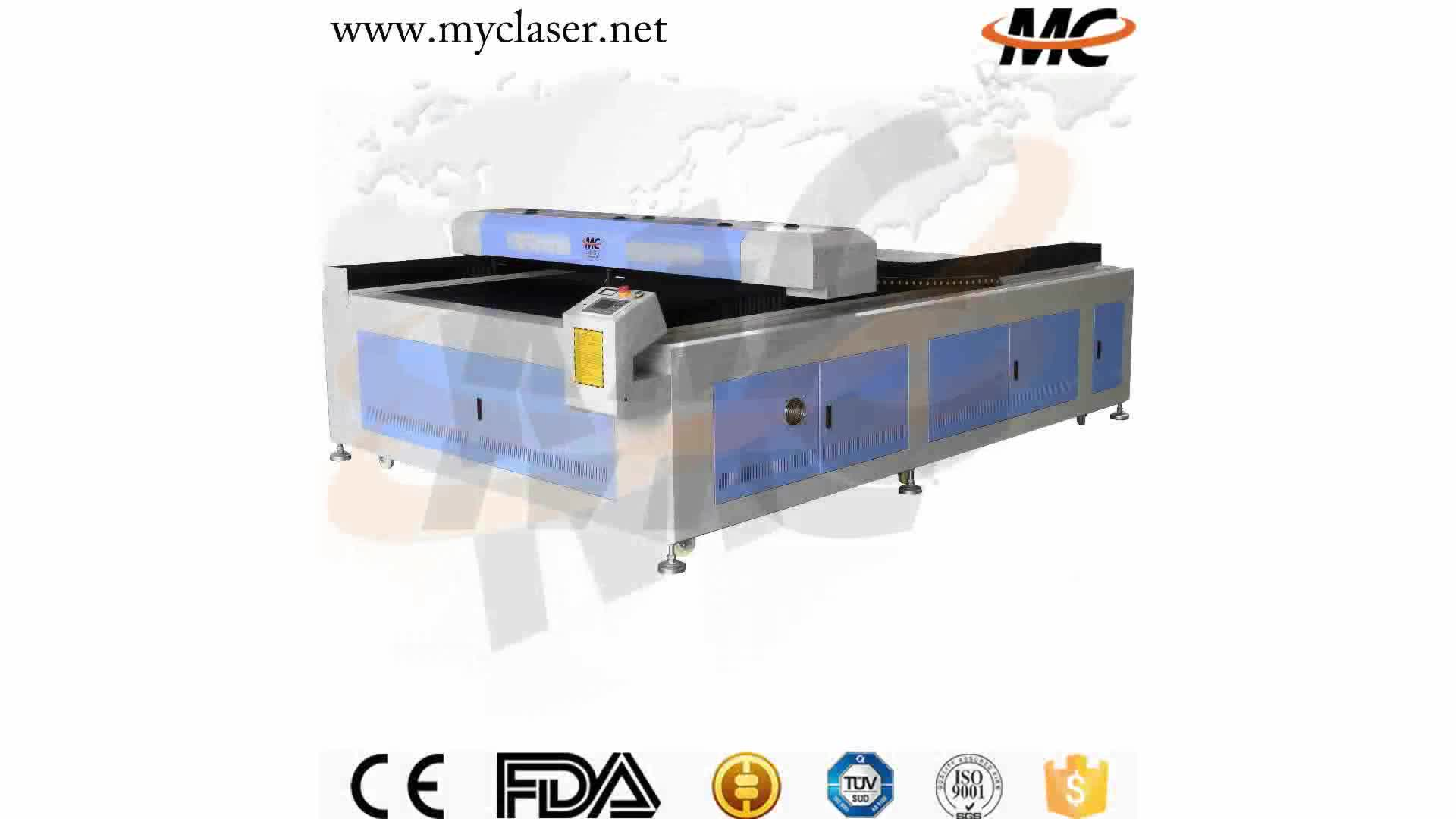Large format 1325 laser cutting engraving machine co2 100w 130w for wood acrylic sheet 4x8