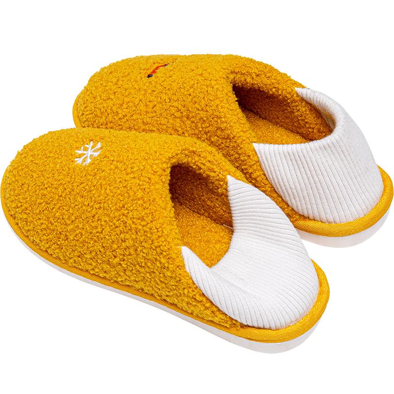 棉拖鞋女包跟棉鞋产后3月份月子鞋质量怎么样