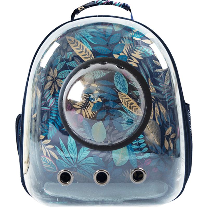 林之堡宠物背包外出双肩包便携猫咪太空舱背包狗用全透明手提猫包