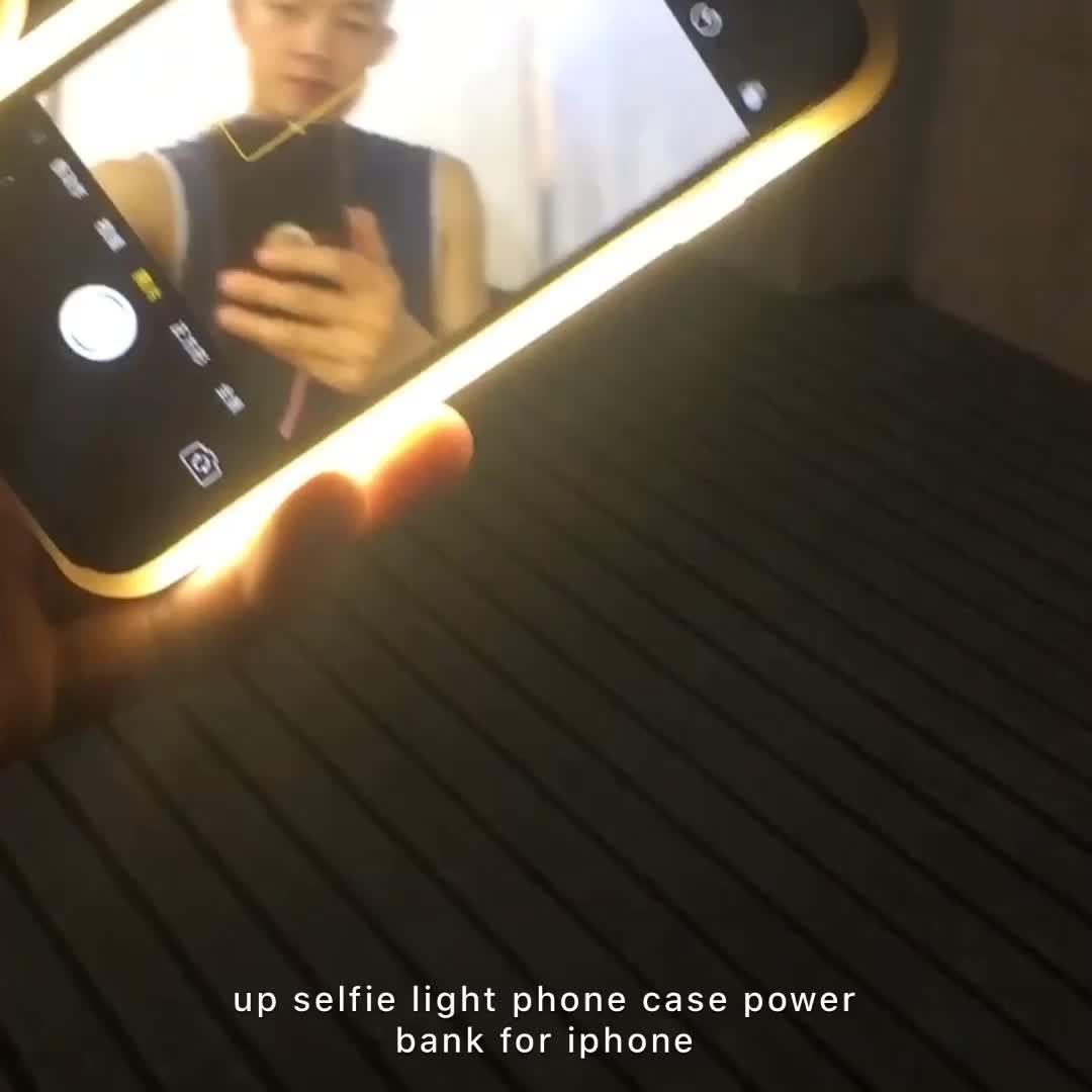 led phone case ios6 6s 7 plus Night fill light