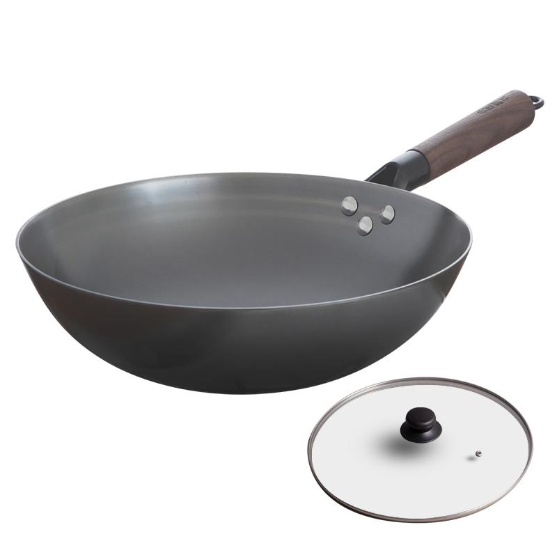 典匠无涂层轻便老式圆底铸铁炒锅值得买吗