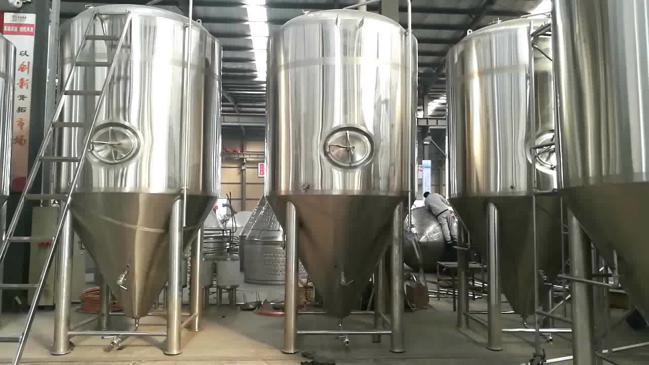 Complete 2000l beer brewing equipment for sell beer