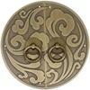 新中式纯铜柜门中式仿古复古把手用后评测