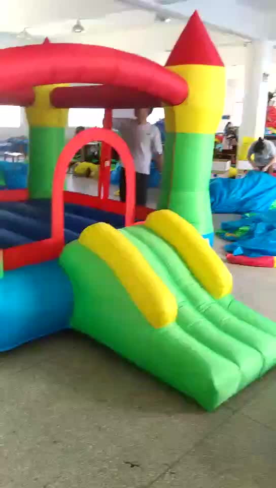 New indoor inflatable mini obstacles bouncer jumpy castle combo