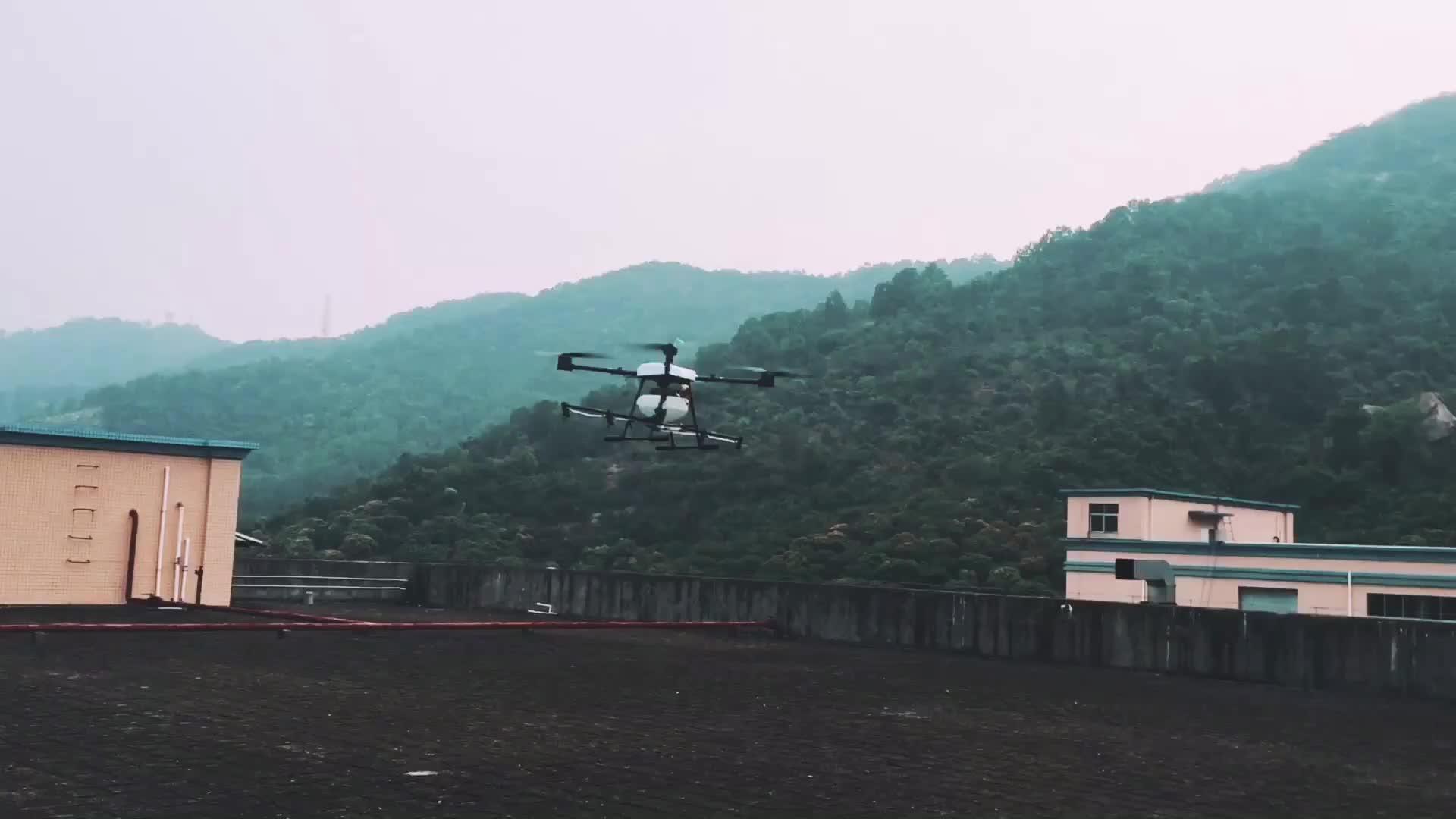 10KG 15KG Agricultural Drone Spark Folding Drone Frame With Auto Pilot Function UAV China Manufacturer