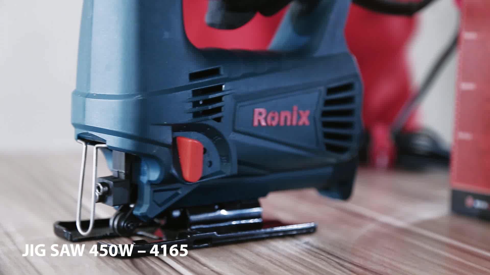 RONIX YÜKSEK KALITELI 3SPEED-450W elektrikli jig testere makinesi modeli 4165