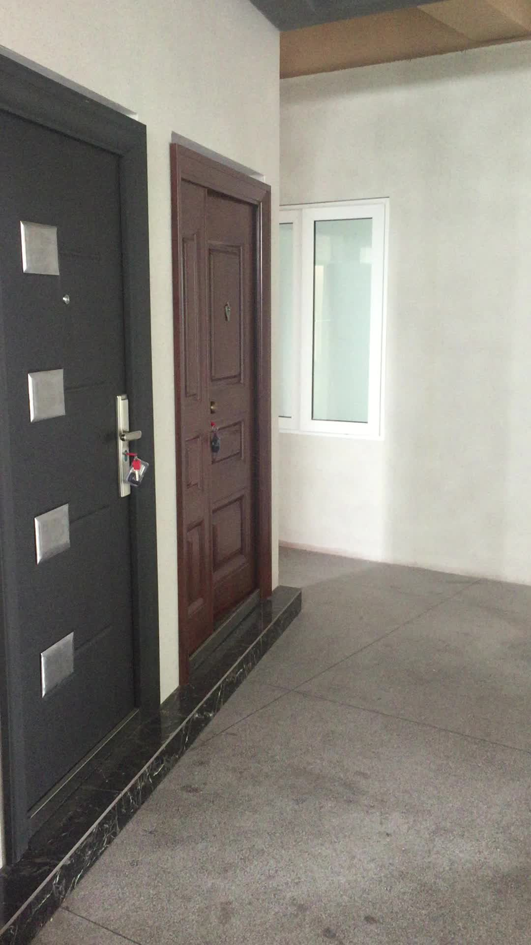 30 x 78 exterior steel door with top vents design buy 30 for Upvc front door 78 x 30