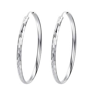 纯银耳圈圆圈新款潮2021年夏季耳环