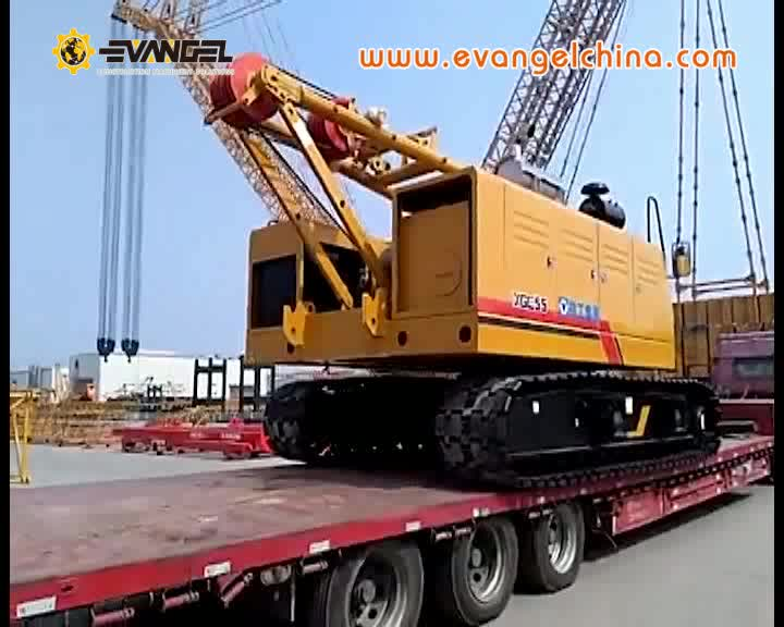 SANY crawler crane 75t SCC750E hydraulic crane