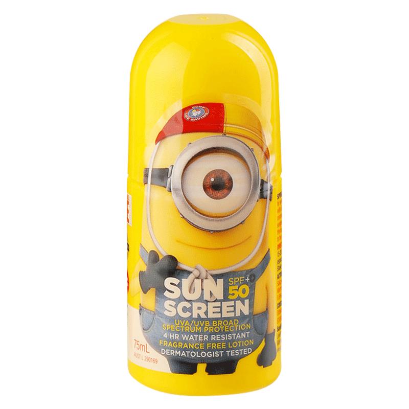 澳大利亚品牌可爱小黄人防晒滚珠