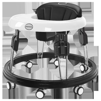 婴儿防o型腿多功能防侧翻月学步车