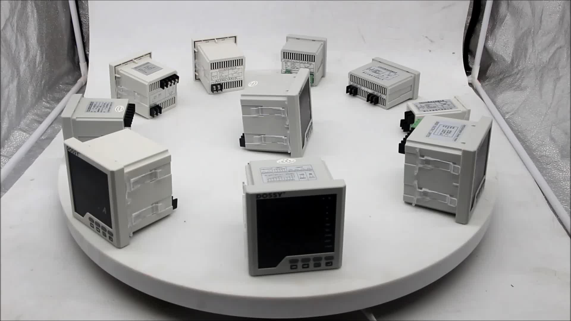 DAV-100 Din-rail type eenfase Digitale LED Display Ammeter Voltmeter Current meter