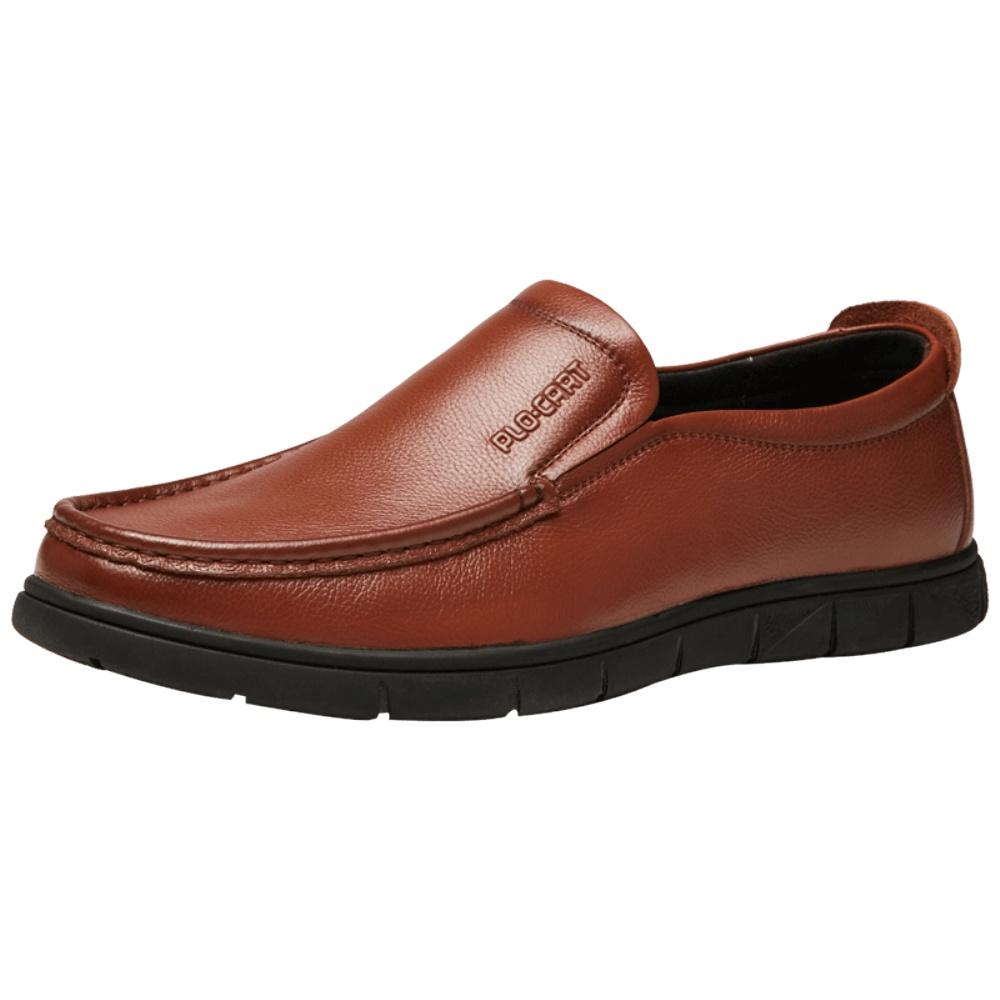 保罗盖帝夏季男士休闲鞋一脚蹬男鞋质量好不好