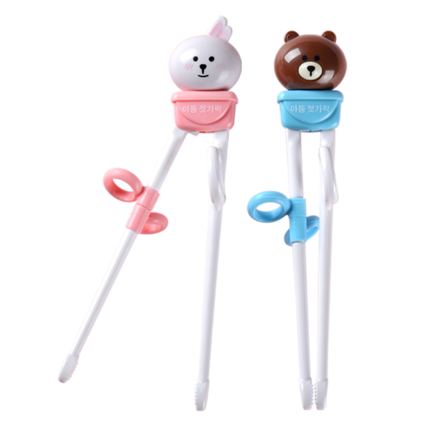 韩国设计儿童筷子训练筷小孩勺叉
