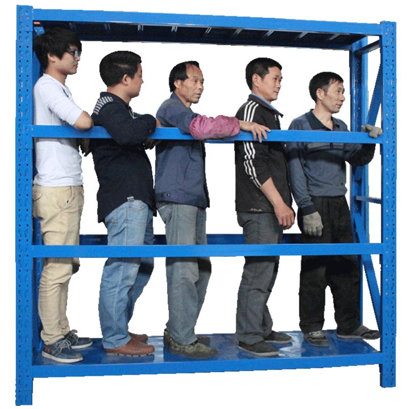 仓库仓储货架四层金属五金货架家用中型重型置物架展示架子280KG