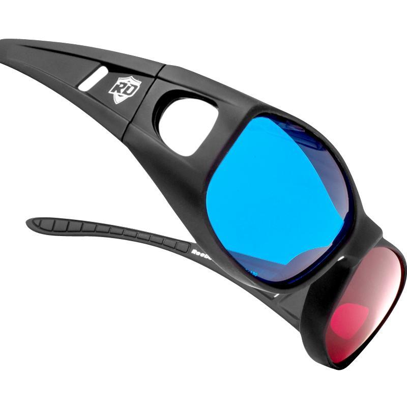三d红蓝眼镜3d普通电脑高清电影片好用吗?